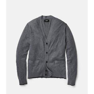 Tipped Cardigan Sweater - JackSpade