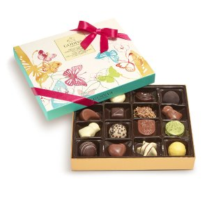 Assorted Chocolate Spring Gift Box, 16 pc