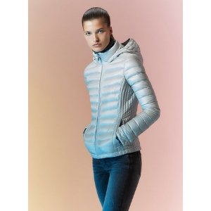 lightweight packable down hooded jacket