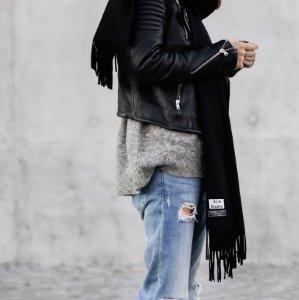 10% Off ACNE STUDIOS Canada wool scarf @ NET-A-PORTER