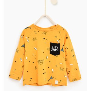 Rock top #joinlife - SPECIAL PRICES-Baby boy-Baby | 3 months - 3 years-KIDS | ZARA United States