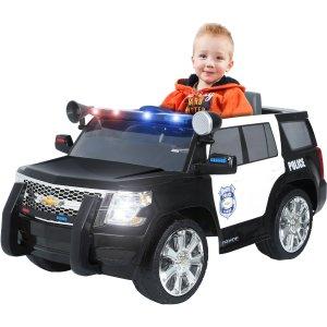 Rollplay 6V Chevy Tahoe Police SUV Ride-On Vehicle - Walmart.com