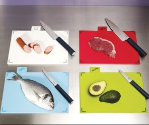 $34.65 Joseph Joseph Index Chopping Board Set, Large, Graphite