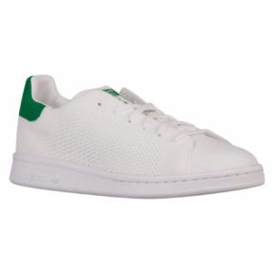 adidas Stan Smith Primeknit - Boys' Grade School - Casual - Shoes - White/White/Green