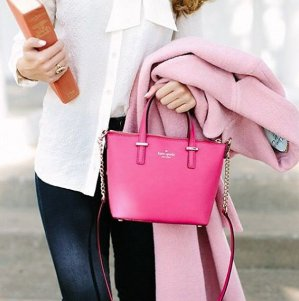 Up To 75% Off Baby Pink Handbags Sale @ kate spade