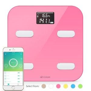 From $44.95 Yunmai Bluetooth 4.0 Smart Scale & Body Fat Monitor