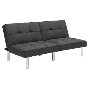 Futon Grey Linen - Room Essentials, Free Shipping for REDcard Holder