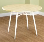 39.99 Simple Living Milo Mixed Media Round Dining Table