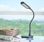 $24.99 ANNT 10W 3 Modes 5-Level Dimmer Gooseneck Dimmable Eye-Care LED Desk Lamp with USB Memory Function