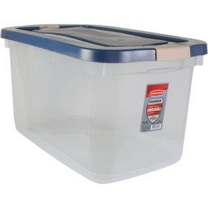 $9.98 Rubbermaid Roughneck 66qt Clear Tote