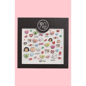 ONNU Love Nail Stickers
