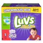 $19 Luvs Ultra Leakguards Diapers Size 1-5