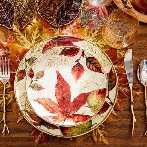 Asheville Leaves Dinnerware | Pier 1 Imports