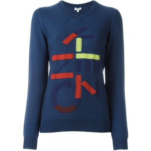 Kenzo Sweater With Kenzo Print | Tessabit shop online