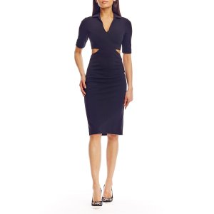 Jersey Cut Out Dress | Nicole Miller