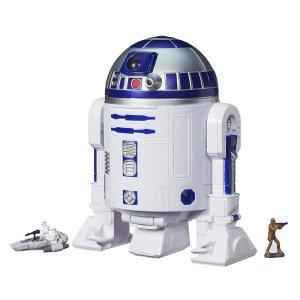 Star Wars The Force Awakens Micro Machines R2-D2 Playset | HasbroToyShop