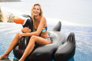 50% Off SunnyLife Inflatable Swan @ shopbop.com