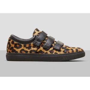 Kingvel Calf Hair Low-Top Sneaker   Kenneth Cole