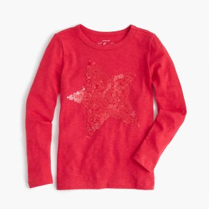 Girls' Shimmering Star T-Shirt : Girls' Tees