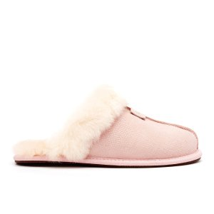 UGG Women's Scuffette II Snake Suede Slippers - Quartz - Free UK Delivery over £50