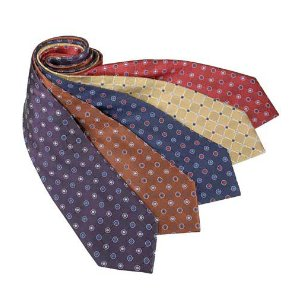 Executive Basic Grids with Circles Tie CLEARANCE - Ties | Jos A Bank