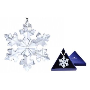 Swarovski Crystal Christmas Ornament 2016 Limited Edition Snowflake - 5180210 | Jet.com