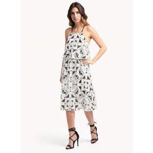 Astra Diamond Tiered Dress |