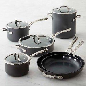 Calphalon Elite Nonstick 10-Piece Cookware Set | Williams Sonoma