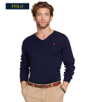 $29.99 PIMA COTTON V-NECK SWEATER