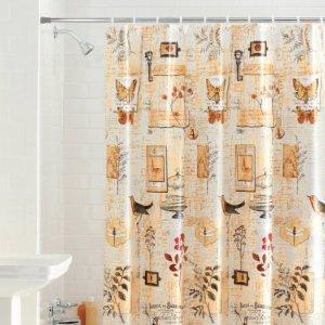 Mainstays Portico PEVA Shower Curtain
