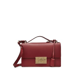 Leather Shoulder Bag  from SALVATORE FERRAGAMO | Luxury fashion online | STYLEBOP.com