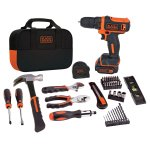 BLACK & DECKER 12V Max Drill 56pc. Project Kit - BDCDD12PK