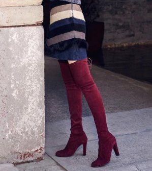 Up to $600 Reward Card with Stuart Weitzman Over The Knee Boots Purchase @ Bloomingdales