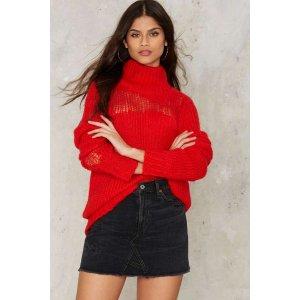 Glamorous New Dawn Fades Turtleneck Sweater