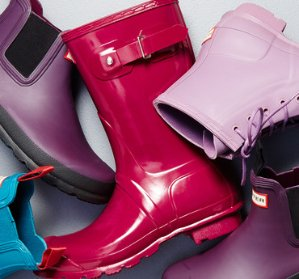 Extra 30% OffUp to 74% Off Hunter & More Rain Boots @ Gilt