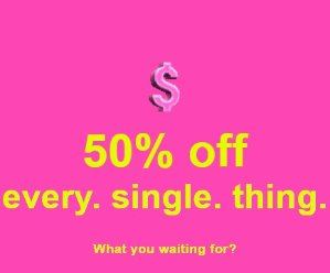 50% Off Sitewide @ Missguided