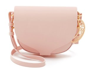 Sophie Hulme Medium Leather Saddle Bag @ Bergdorf Goodman