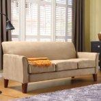 $386.74+$70现金券(原价$699.99) HomeVance超细纤维多人沙发