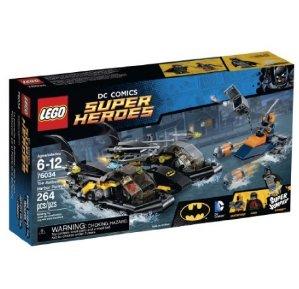 $22.09 LEGO Super Heroes 76034 the Batboat Harbor Pursuit Building Kit