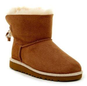 UGG Australia Selene Genuine Sheepskin Lined Boot (Little Kid & Big Kid) @ Nordstrom Rack