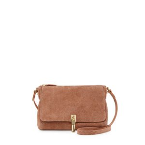 Elizabeth and James Cynnie Suede Micro Crossbody Bag