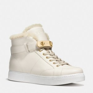 COACH Designer Sneakers | Richmond Shearling Sneaker