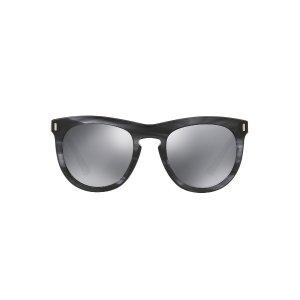 Dolce & Gabbana DG4281 52 Grey & Black Sunglasses | Sunglass Hut USA