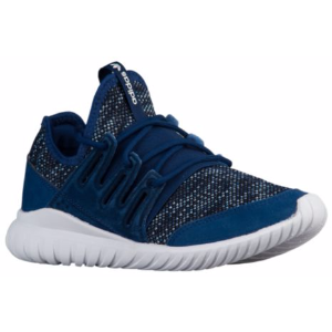adidas Originals Tubular Radial - Boys' Grade School - Running - Shoes - Mystery Blue/Tactile Blue/Black