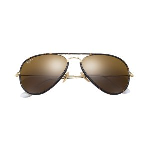 Ray-Ban Aviator Full Color Tortoise Gold, RB3025JM | Ray-Ban® USA