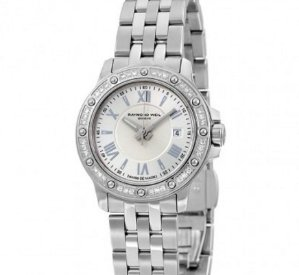 Lowest price!Raymond Weil Tango Silver Dial Diamond Ladies Watch