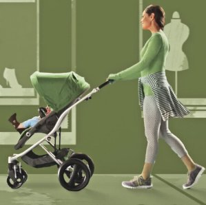 $228.16 Britax Affinity Stroller, Silver/Cactus Green