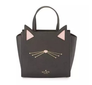 $328 kate spade new york jazz things up hayden small cat tote bag