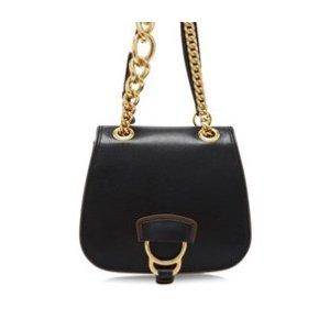 Miu Miu Madras Lux Soft Calf Dahlia Shoulder Bag 22cm