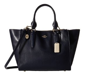 COACH Smooth Leather Crosby Carryall